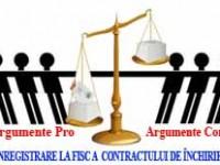 contractele de inchiriere neinregistrare la fisc